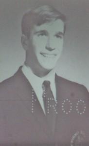 Winkler in high school.