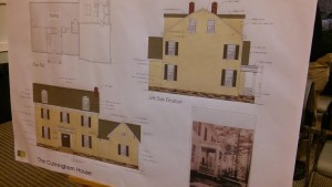 A proposal of what the finished house would look like. Credit: Tom Sofield/NewtownPANow.com